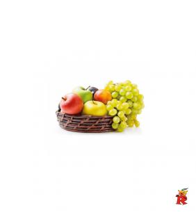 Cesto Natalizio Frutta Rey