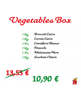 Vegetables Box Frutta Rey